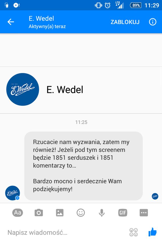 wedel facebook